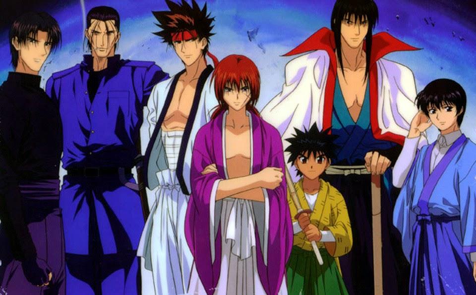Group of rurouni kenshin samurai x wallpaper samurai x wallpaper wallpapers browse voltagebd Images