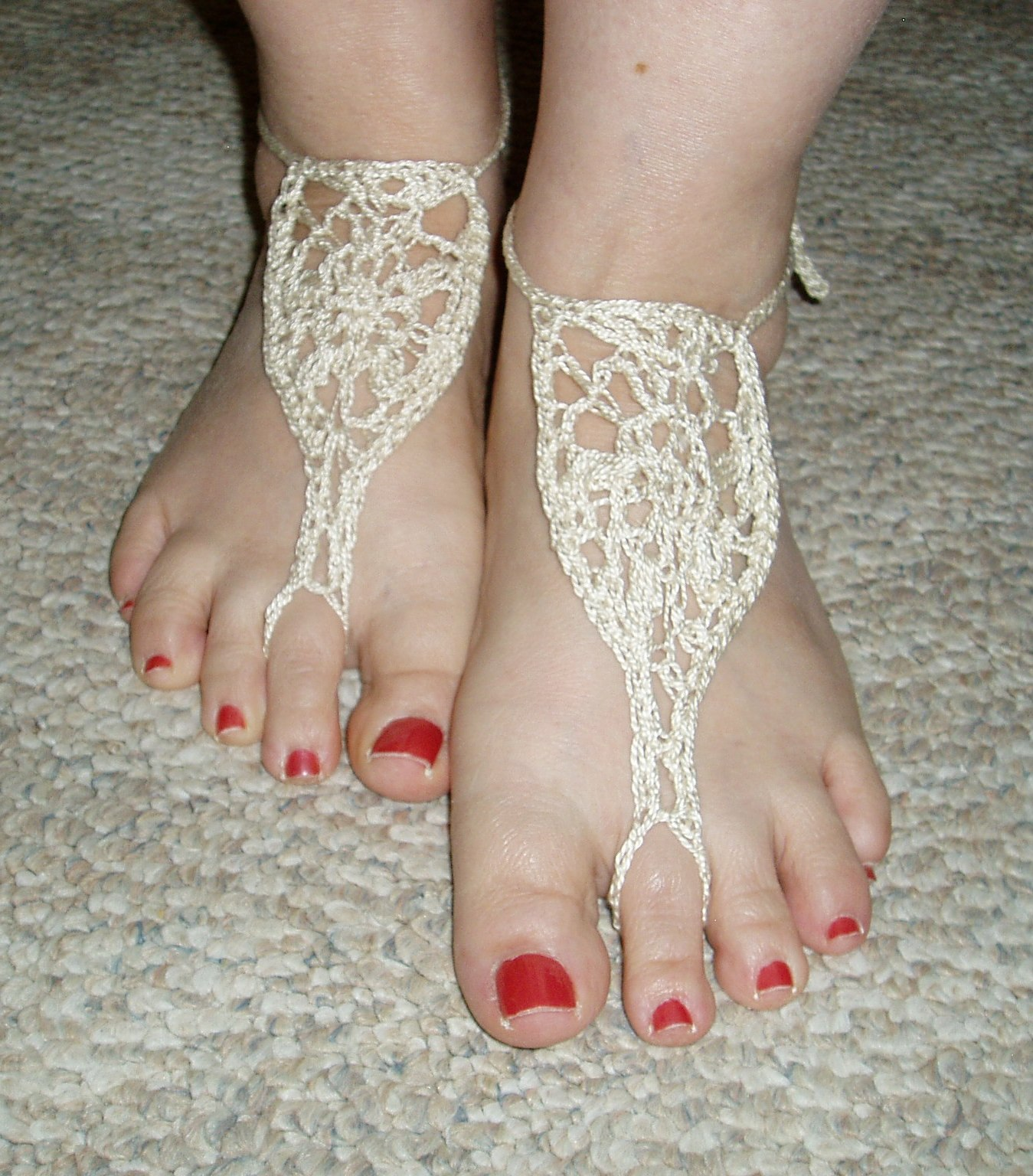 Crafty Pastimes Barefoot Sandals