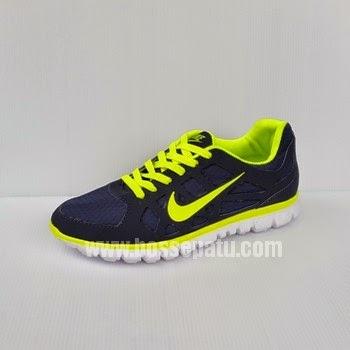 Nike Free 5.0 Hitam Hijau Stabilo Stabilo