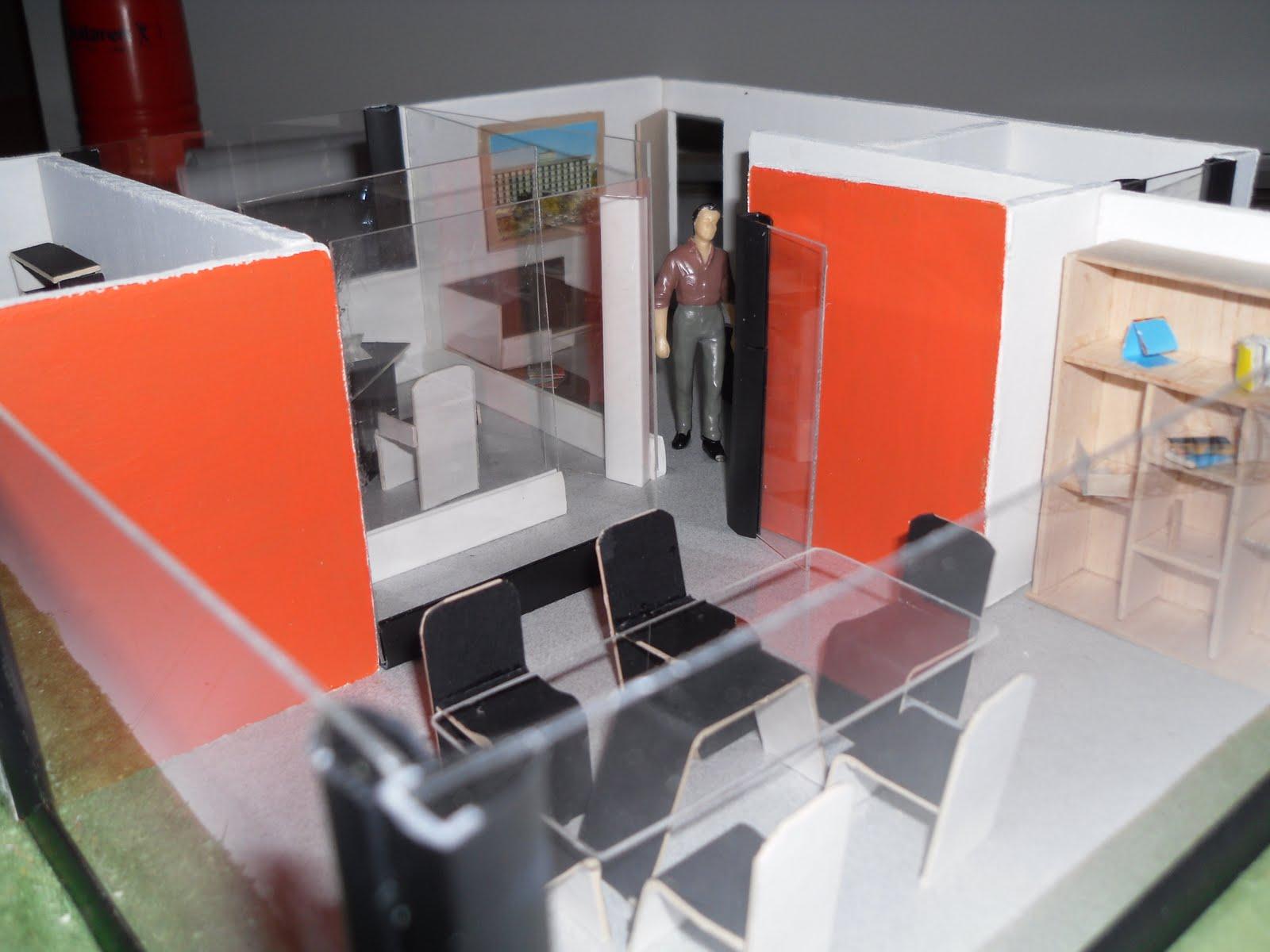 Maquetas de oficina moldes dise 241 o y construcci 243 n for Muebles de oficina wikipedia