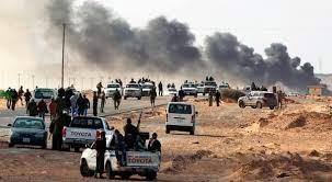 مواجهات عسكرية للجيش الليبي بدريانة شرق بنغازي