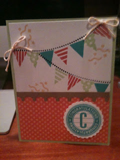 Popup birthday presents card (front)