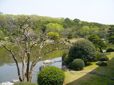 万博公園・日本庭園 心字池