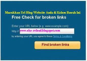 Cara Mengetahui Broken Link
