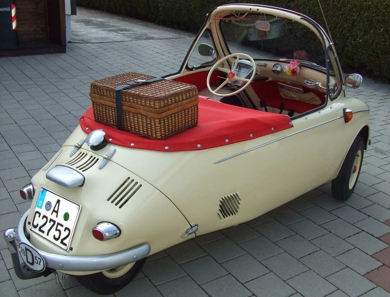Heinkel Cars Kabines And Cabin Scooters A Heinkel Convertible
