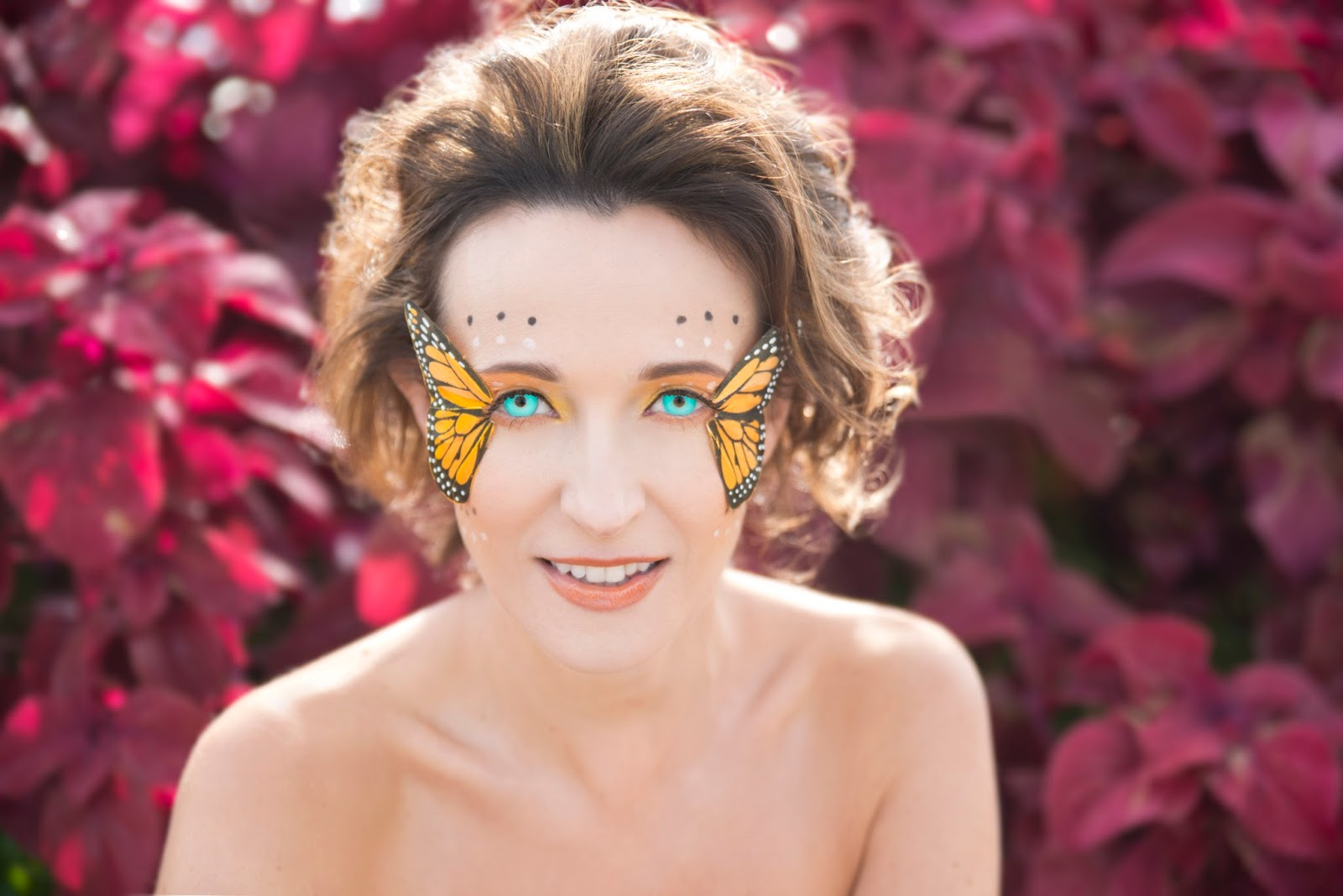 Erins faces butterfly fairy halloween makeup tutorial butterfly fairy halloween makeup tutorial baditri Image collections