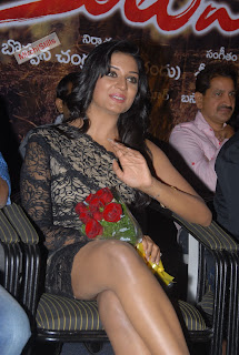 Vimala Raman WOW what Stunning Black Gown Lovely Beauty Must See (10)016.jpg