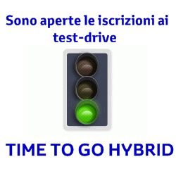 prenotazione test drive yaris ibrida