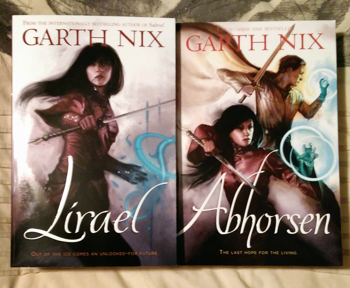 Lirael And Abhorsen (old Kingdom #2 & #3) By Garth Nix So, I Think After  Kelly's (diva Booknerd) Tweets On Tuesday, That You All Could Tell That It  Was My