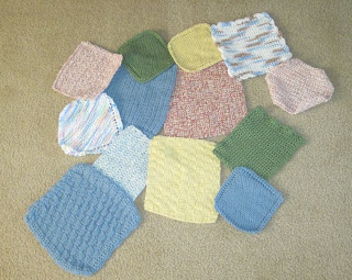 cotton washcloth donation