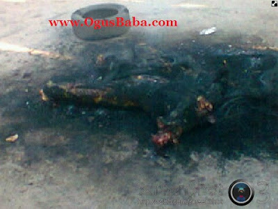 taskforce A Night Guard Was Brutalized And Burnt To Death In Warri.