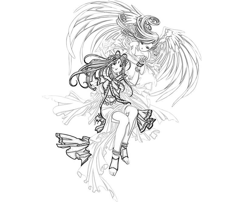belldandy-power-coloring-pages