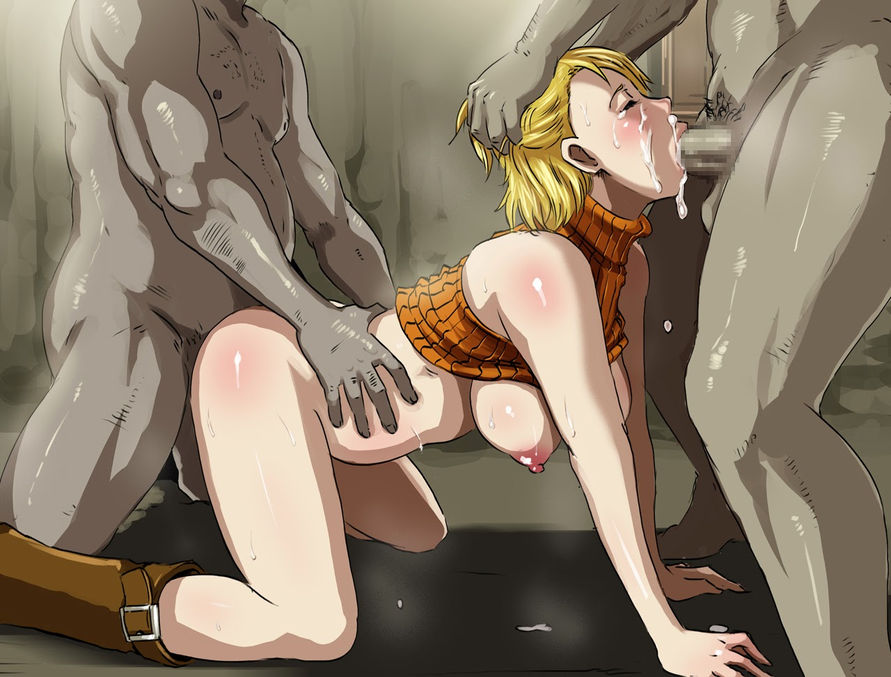 Female anime monster fucked by human porn  cartoon clips