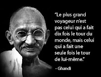 Je s'aime mes p'tits cailloux ... Ghandi
