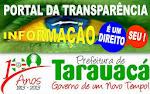 PORTAL DA TRANSPARÊNCIA DA PREFEITURA DE TARAUACÁ