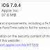 iOS 7.0.4 untuk iPhone, iPad, iPod Touch