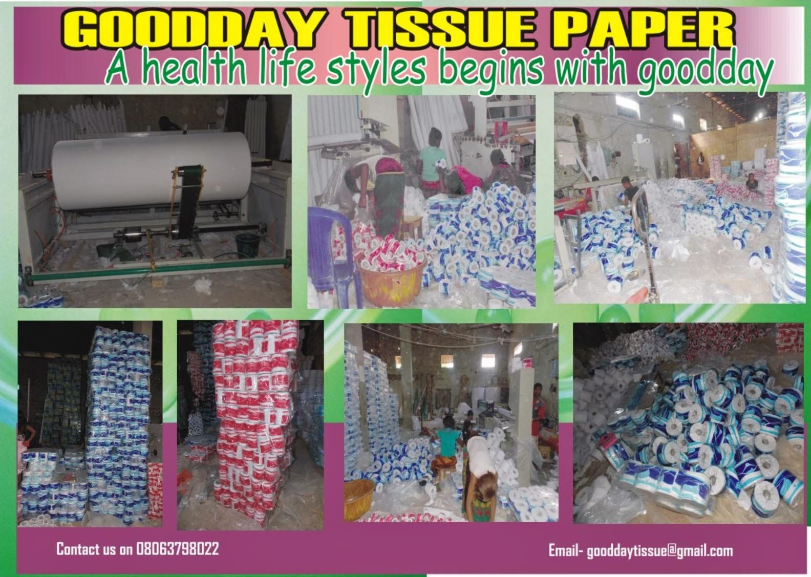 Good Day Tissue Paper