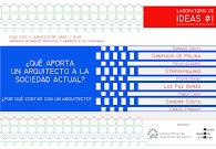 EN EL COAG DE VIGO, LABORATORIO DE IDEAS