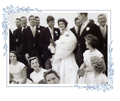 jackie kennedy wedding. jackie kennedy wedding day.