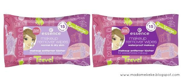 essence design edition – make-up remover wipes normal & dry skin