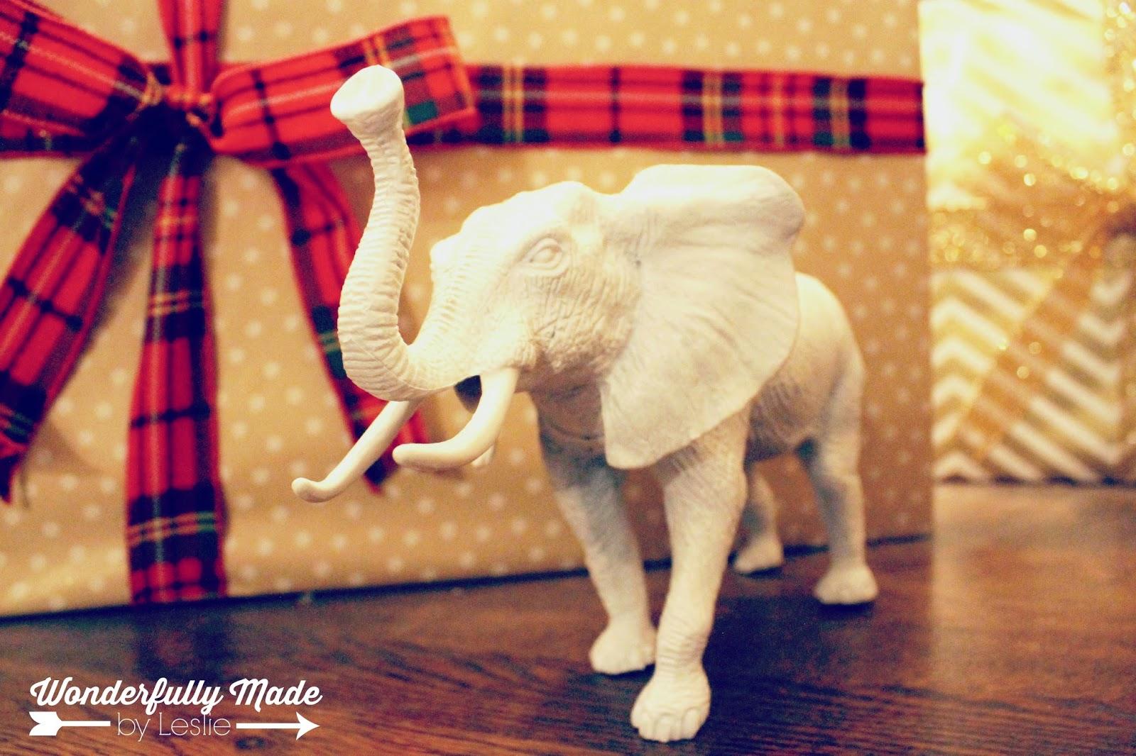 Wonderfully Made Best Ever White Elephant Gift