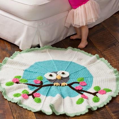 Free pattern: Whoo's My Cutie Blanket