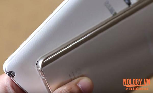 điện thoại Samsung Galaxy Note 4 và Galaxy Note 5