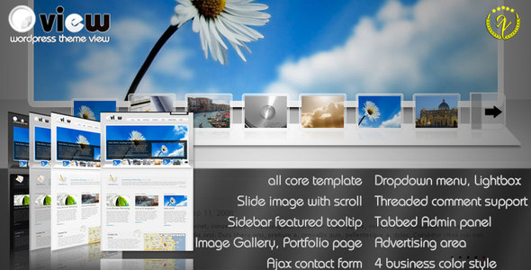 ThemeForest - Business & portfolio WordPress Themes View
