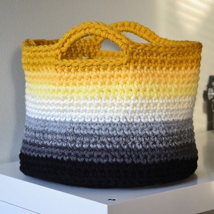 Ombre Basket - Free Pattern
