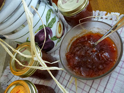spiced PLUM orange Amaretto JAM