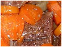 Jarret de Boeuf aux Carottes et pommes de terre