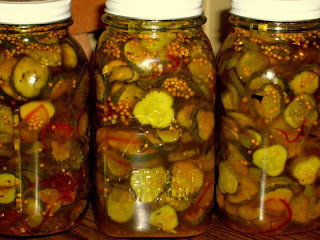 Bread And Butter Pickles (Mustard Seed Trivia)