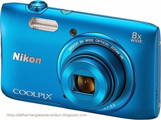 Harga dan Spesifikasi Kamera Nikon Coolpix S3600