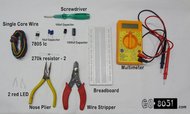 Breadboarding basics-Bill of Materials (BOM)