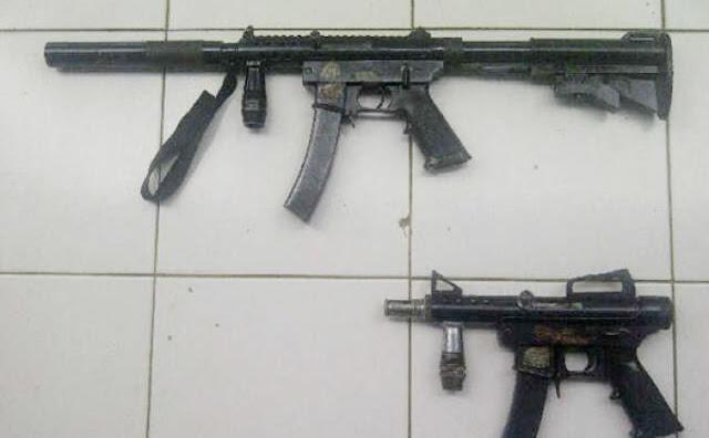 TNI AL Amankan Dua Senjata Api di Karang Unarang