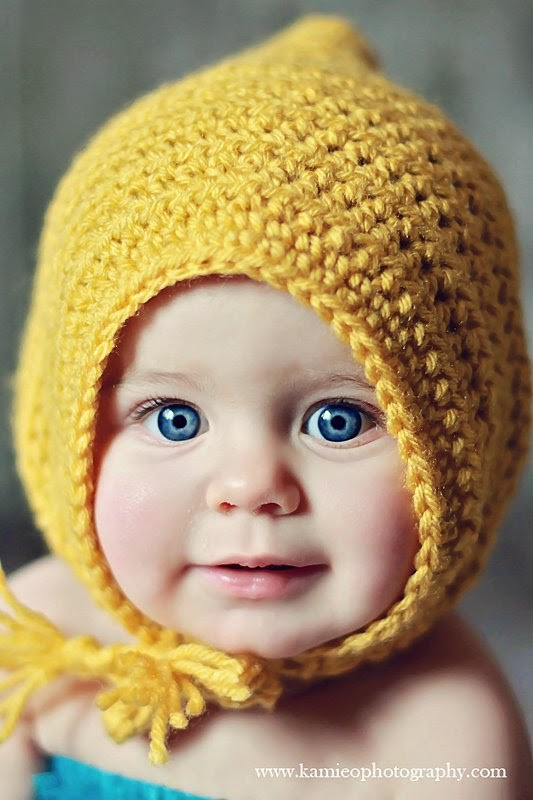 Danyel Pink Designs: CROCHET PATTERN - Little Maiden Bonnet