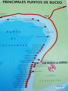 Mergulho de Maria La Gorda Cuba