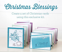 Christmas Blessings Card Kit