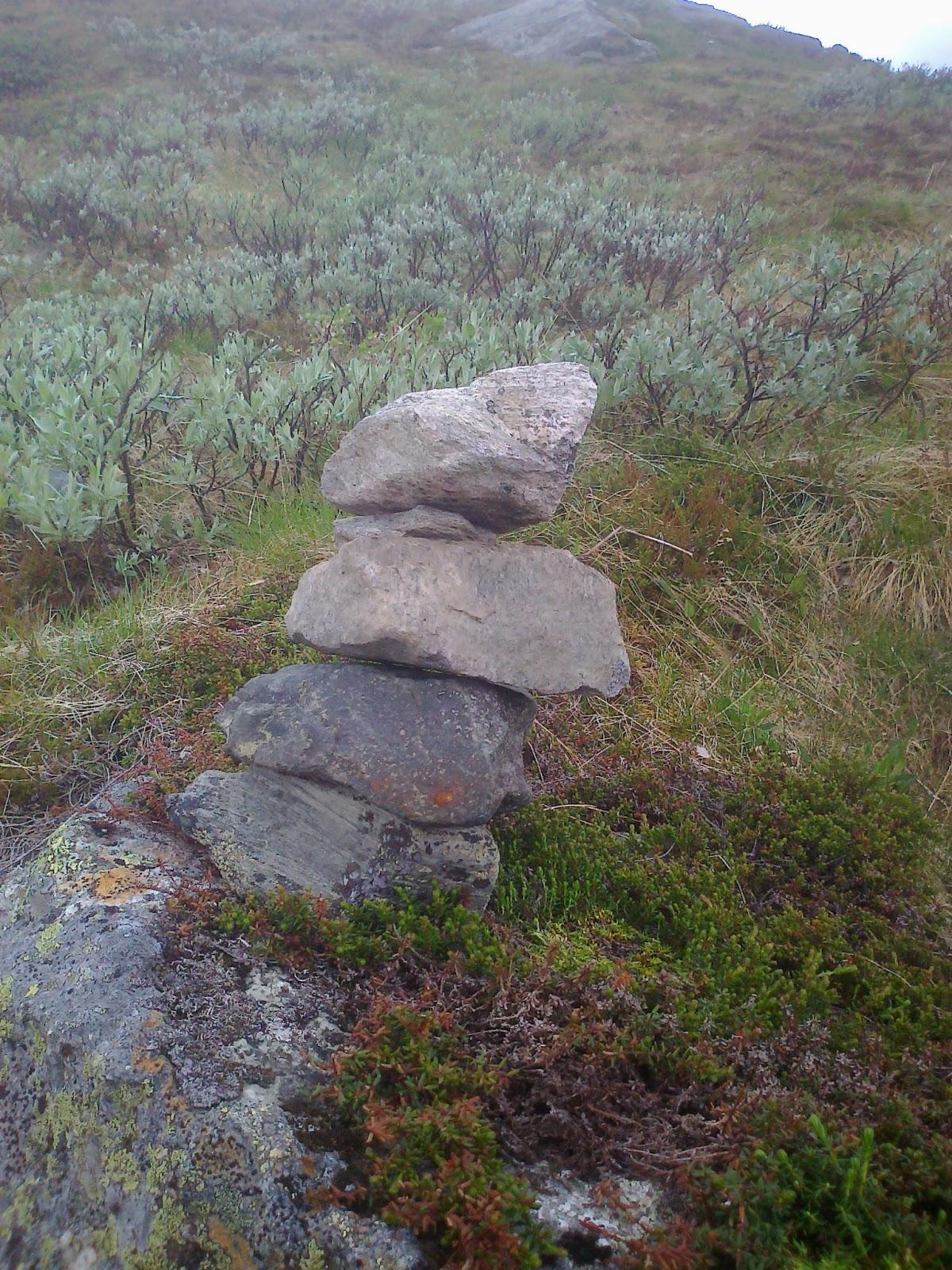 kunsten å være den man er toppløs på fjellet