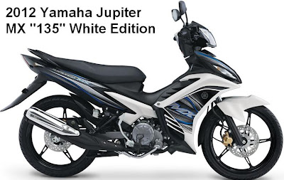 New Yamaha Jupiter MX White