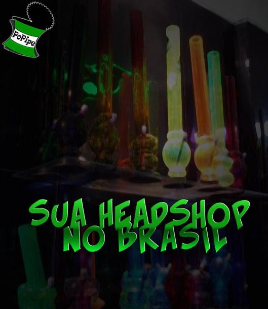 Visite o  site da Headshop PoPipe, clique na imagem