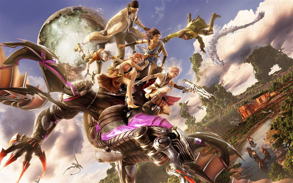 Final Fantasy HD & Widescreen Wallpaper 0.000169126943079689
