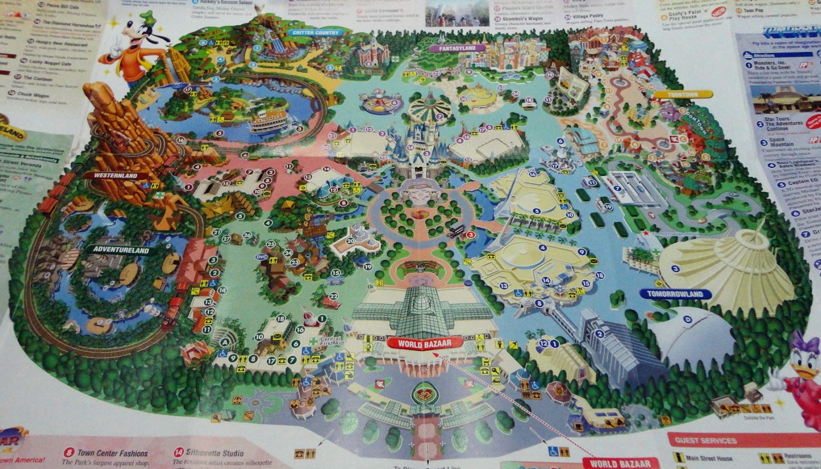 disneyland florida map