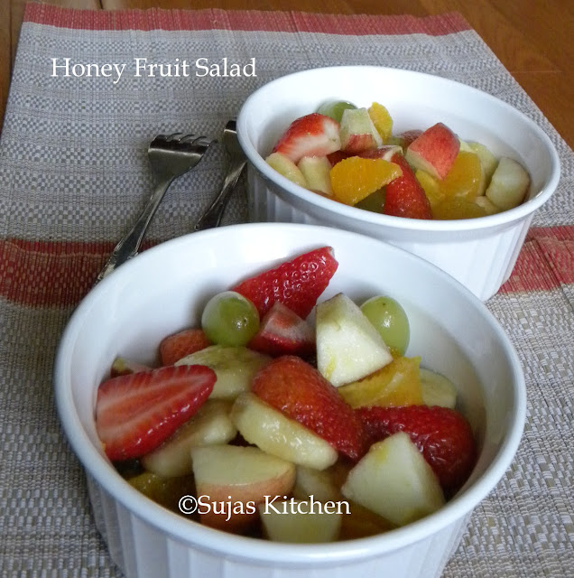 Healthy Honey Fruit Salad