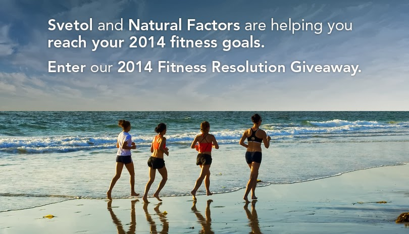 svetol fitness resolution giveaway banner