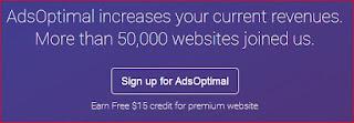 AdsOptimal Alternatif Terbaik Selain Google Adsense
