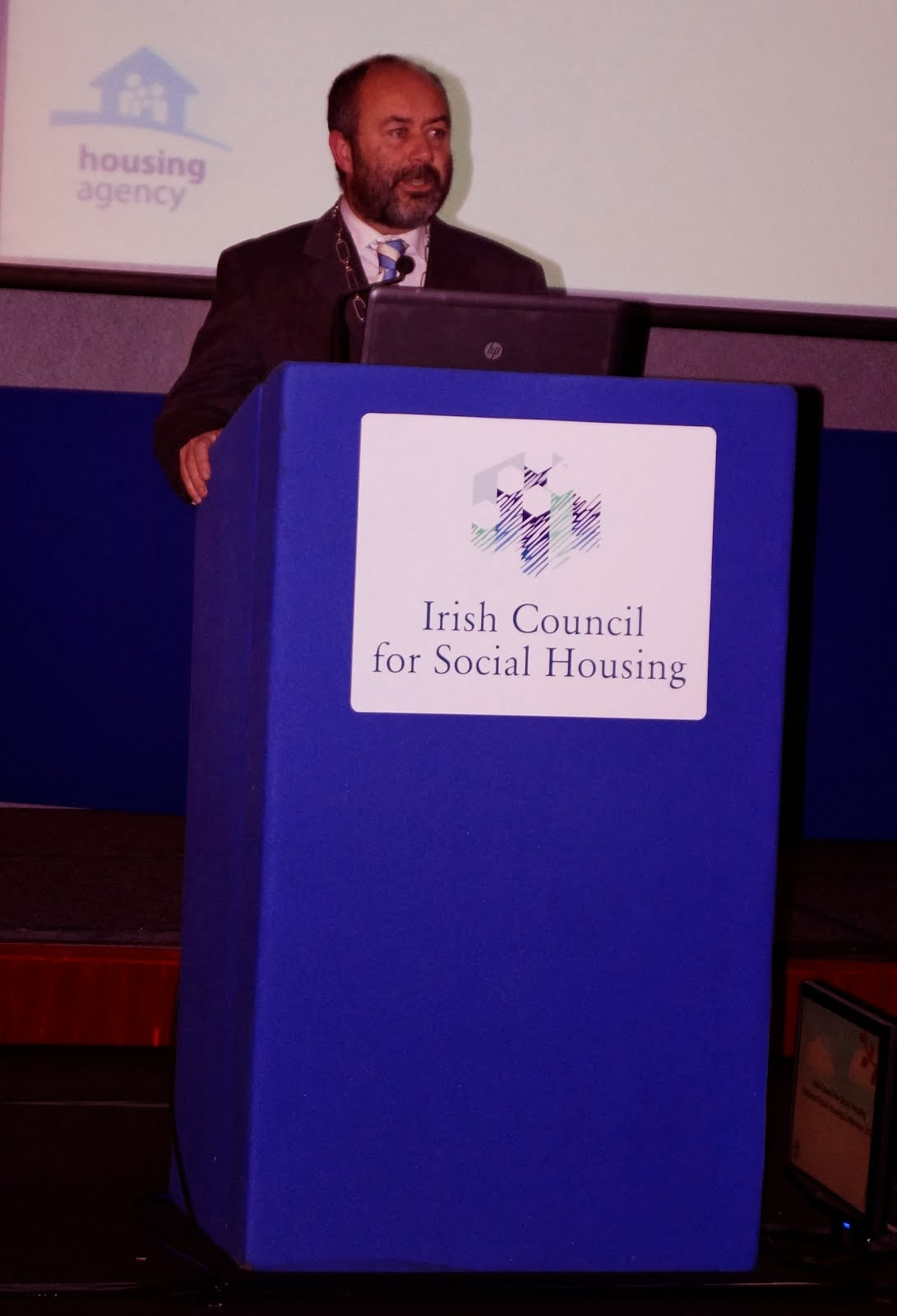 Speaking at the National Conference of Irish Council for Social Housing