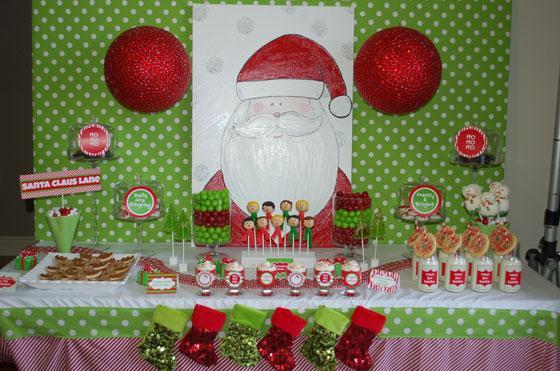 Original birthday fiesta de navidad para ni os - Decoracion cumpleanos para ninos ...