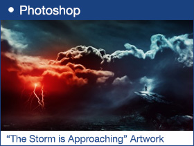 "The Creation of ""The Storm is Approaching"" Artwork in Photoshop"