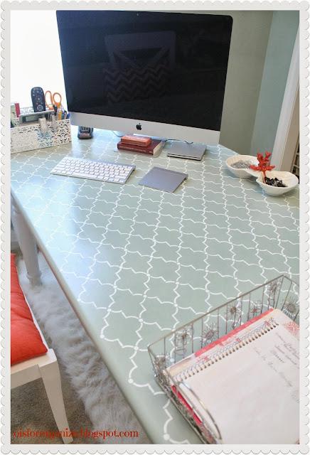 stencil desk